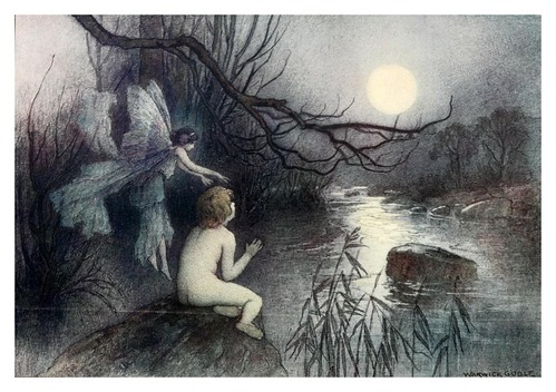 004-The water-babies a fairy tale for land-baby 1909-ilustrado por  Warwick Goble