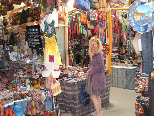 Going Out In Antigua Guatemala Indoor Market Craft Traditional