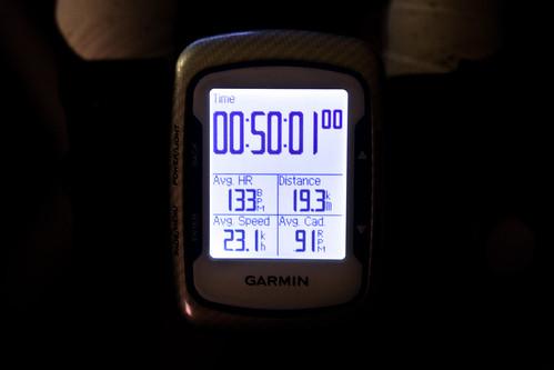 50min ave23.1 19.3km