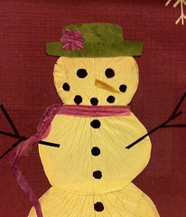 Mrs. Snowman (Made of Flowers) Tags: dahlia flowers trees winter lighthouse snow mountains flower art nature pine barn river garden botanical cards japanese cow snowman lily natural crafts craft nasa petal valley frame myrtle hydrangea etsy creeping iss driedflowers pressed pressedflowers oshibana