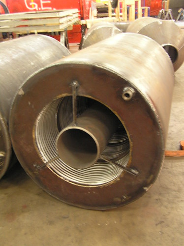 15 Externally Pressurized Expansion Joints for a Power Generation Company in Wisconsin