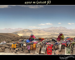 4910 m (16108 ft) (Fil.ippo) Tags: travel mountains montagne landscape market altitude per salinas andes bianca elevation altezza mercato arequipa viaggio hdr filippo height paesaggio aguada ande altitudine d5000