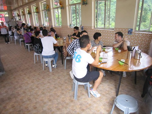Vegetarian Restaurant At The Ten Thousand Buddhas Monastery