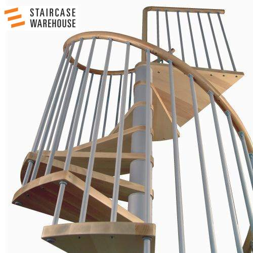 C20 Plus Kit Spiral Staircase Stairs By Staircase Warehouse 02