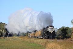 Just in Time (MP36er) Tags: up pacific union engine steam 3985