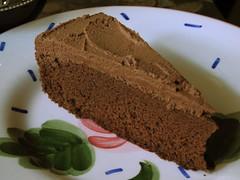 Chocolate Génoise/PB Ganache