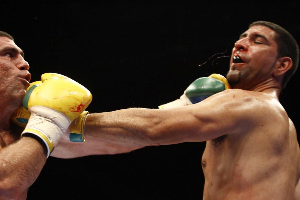 Boxe - Categoria Pesados George Arias (Brasil) x Emilio Zarate (Argentina)