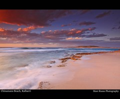 Chinamans Beach, Kalbarri (Marc Russo (Australia)) Tags: ocean sunset red canon long exposure australia filter nd magical bluff kalbarri 50d