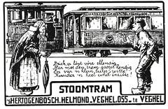 Brabantse Tram-reclame in dialect (Arthur-A) Tags: netherlands nederland tram language streetcar taal tramway paysbas brabant strassenbahn niederlande bba noordbrabant oss dialect helmond veghel