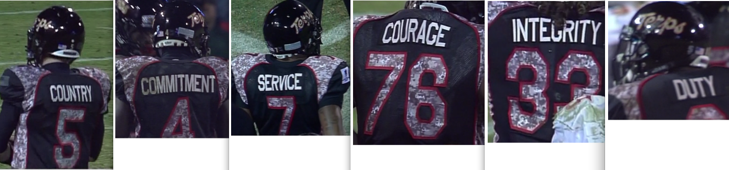 Maryland wore their solid-black Wounded Warrior uniforms. a18a44e6a