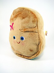 for a chicken nugget lover.... (scrumptiousdelight) Tags: toy plush softie kawaii plushie stuffie chickennugget chickenmcnugget scrumptiousdelight
