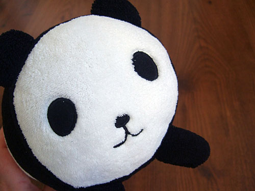 Taiko Panda Pillow