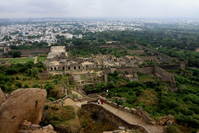 View from Baradari Citadel