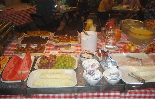 Café da manhã no Pé no Parque