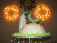 Eid Cake ( * Mashhood) Tags: holiday cake minaret muslim islam eid mosque special dome bake islamiccake