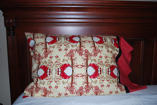 Holiday Pillowcase Week 1