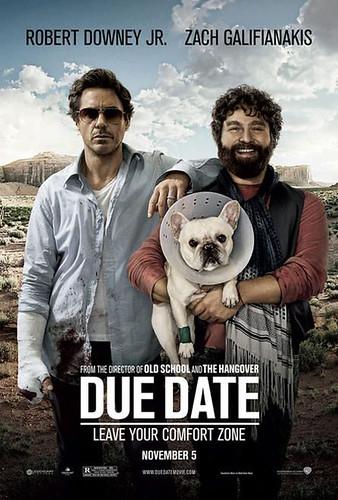 due date movie poster. due-date-movie-poster