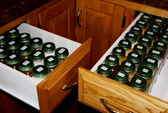 Spice Drawers (babysteps4565) Tags: spice drawer jar