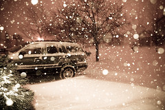 """Snow """"fall"""" in Chicago (mike.palic) Tags:"""