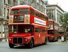RML 888 Taken 1/8/1978 (colinfpickett) Tags: bus vintage routemaster rm londontransport dms
