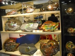 Ammolites in Tucson (kimforbeads) Tags: old canada rock stone fossil mineral ammolite