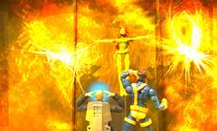 Ascension (peanutsinspace) Tags: marvelcomics marvellegends hasbro hasbrolegends toybiz toybizlegends xmen cyclops scottsummers jeangrey phoenix professorx professorxavier charlesxavier actionfigures toys