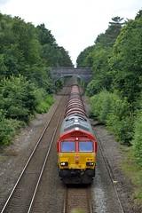 66150, Sutton Park (JH Stokes) Tags: class66 suttoncoldfield suttonpark westmidlands birmingham freightlocomotive freighttrains dbcargo 66150