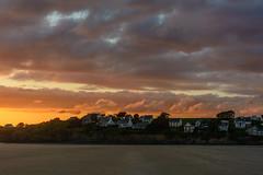 Pentrez-45-1 (stevefge) Tags: bretagne brittany france pentrez sunset beach sand sky cloud cliffs landscape reflectyourworld
