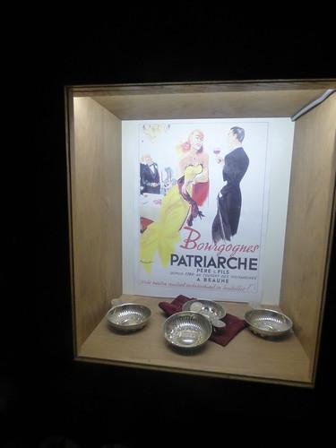 Patriarche Beaune - wine cellars - wine tasting cups - Bourgognes Patriarche