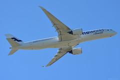 OH-LWB Finnair Airbus A350 EGLL 10/6/17 (David K- IOM Pics) Tags: egll lhr london heathrow airport oh ohlwb fin ay finnair airbus a350 a359 a350900