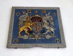 Royal Arms of George II, Reepham (Aidan McRae Thomson) Tags: reepham church norfolk royalarms relief