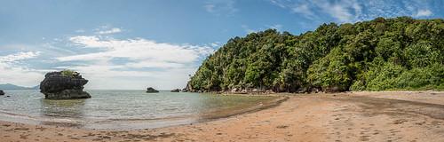 Une des plages de Bako