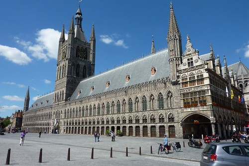 Swiss Roll - Day 1, Ypres Cloth Hall