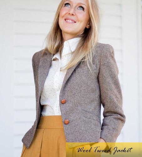 Wool Tweed Jacket