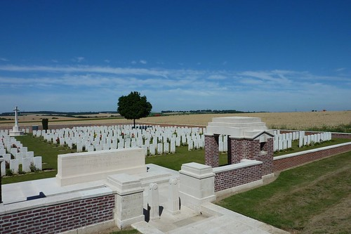 British Cemetery in the Somme