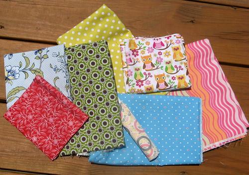 random fabric purchases