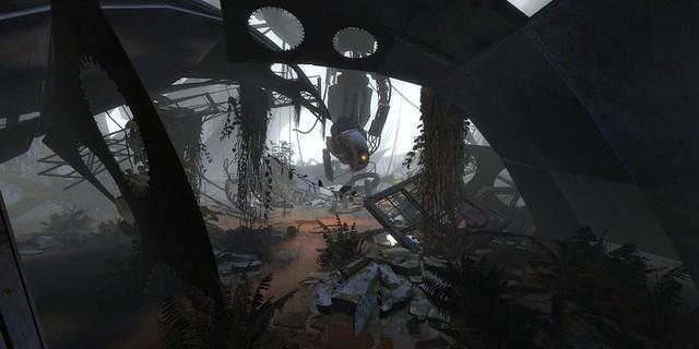 Screenshots Portal 2 GlaDOS selva