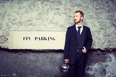 FinParking (Dwam) Tags: ginger handsome redhead suit discoball collaboration censier mrpan dwam