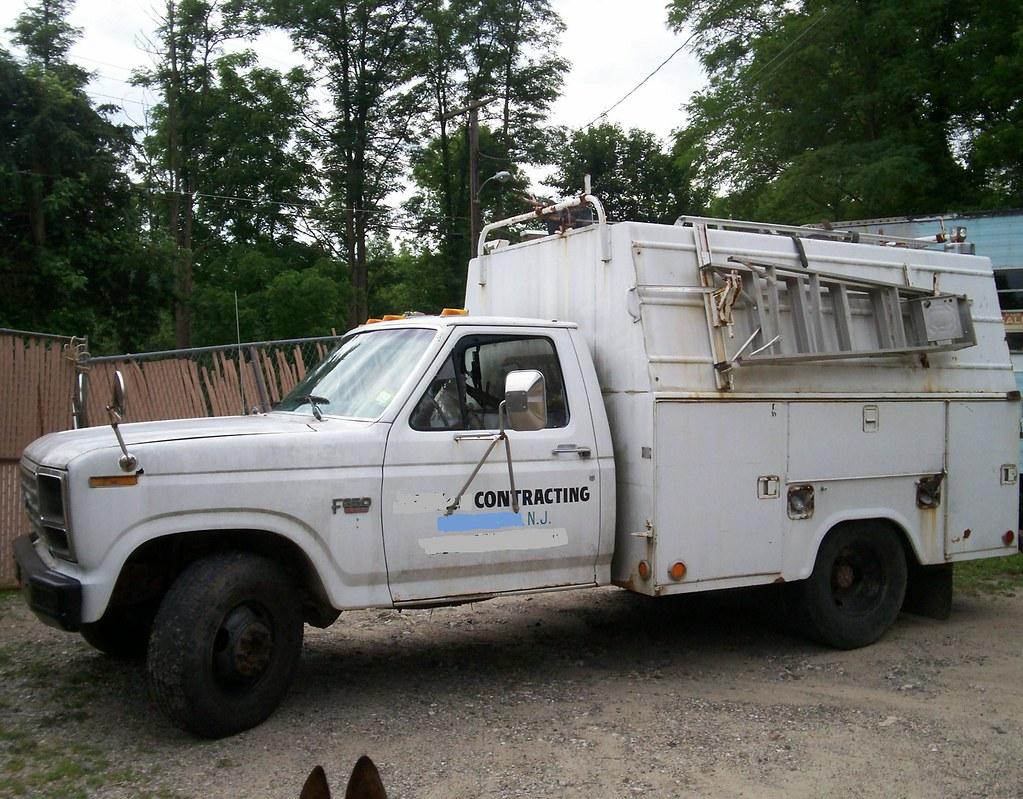 1986 F-350 Dually Contractors Service Truck