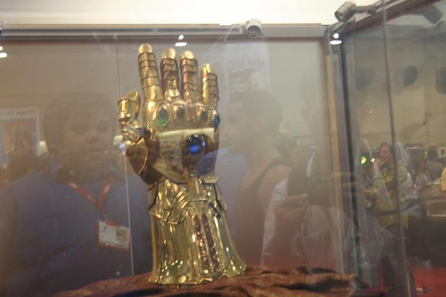 Thor Guante Infinito de Thanos Comic-Con.