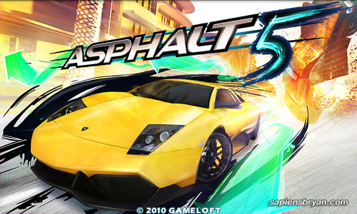 Asphalt 5 Splash Screen
