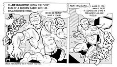 Metamorpho #3 panels