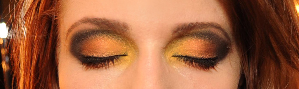 Yellow/Clay/Orange & Black M.A.C. & MAX Factor EyeShadow Makeup