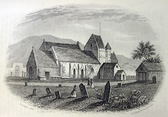St Brelade's Church 1840 by P,J, Ouless