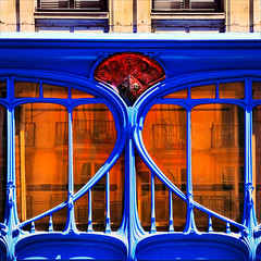 Bleu Majorelle.Nancy (fifich@t / Franise / off) Tags: france reflection bleu artnouveau nancy reflexions reflets copyright squarepicture allrightsreserved formatcarr bleumajorelle colorphotoaward copyrightallrightsreserved tousdroitsrservs nikond3oo nikonflickraward dragondraggerphoto saariysqualitypictures lightroomps fifichat1 frs fificht frs