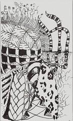 Ensemble 02 - 2 (molossus, who says Life Imitates Doodles) Tags: ensemble tangles zentangle zendoodle zentangleinspiredart