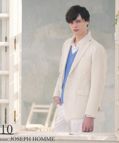 Jason Wilder0124(Isetan Spring2009 Catalog)
