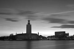 Stockholm by night (peter.wittinghoff) Tags: longexposure night stockholm slussen stadshuset stockholmbynight
