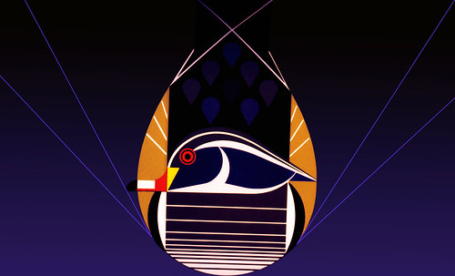 "Charley Harper • <a style=""font-size:0.8em;"" href=""http://www.flickr.com/photos/30735181@N00/4848328462/"" target=""_blank"">View on Flickr</a>"