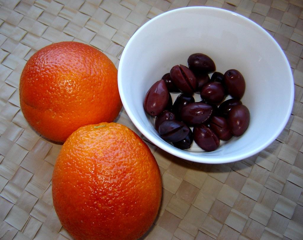 Blood Orange & Kalamata Olive Salad 6